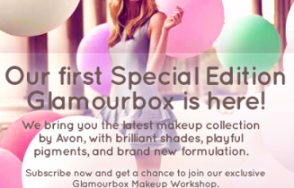 glamourbox and avon special edition box 2