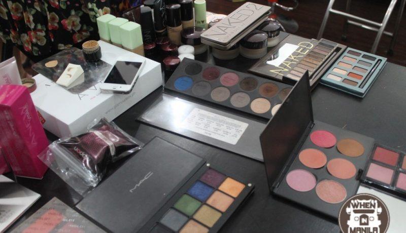 glamourbox personal makeup workshop