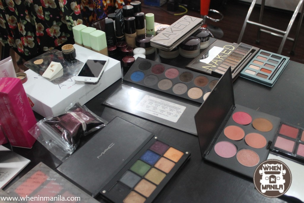 glamourbox personal makeup workshop