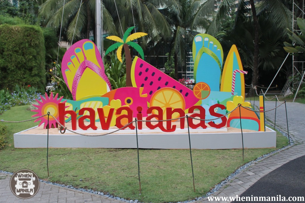Make Your Own Havaianas 2012 at the Rockwell Tent