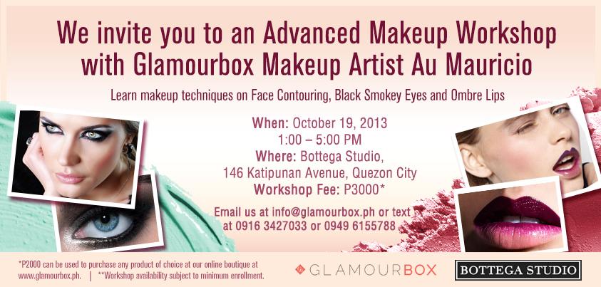 makeup workshop advanced highlight new