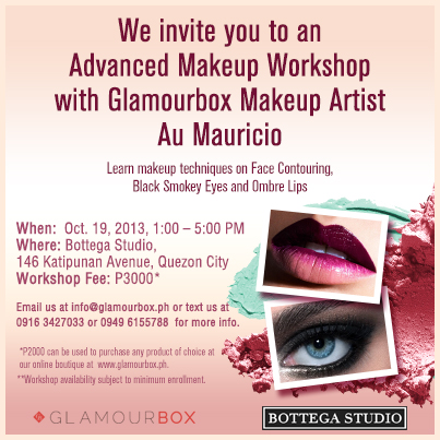 makeup workshop advanced shared new