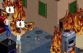 sims-house-burning