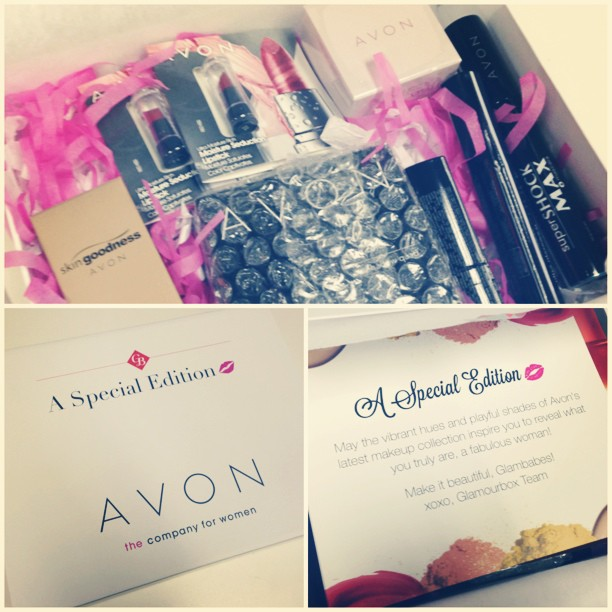 special edition avon glamourbox