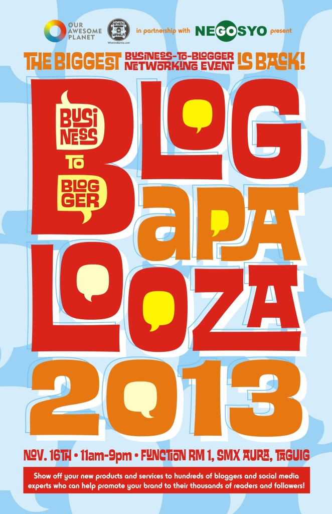 Greta's Junkyard will be at Blogapalooza 2013!
