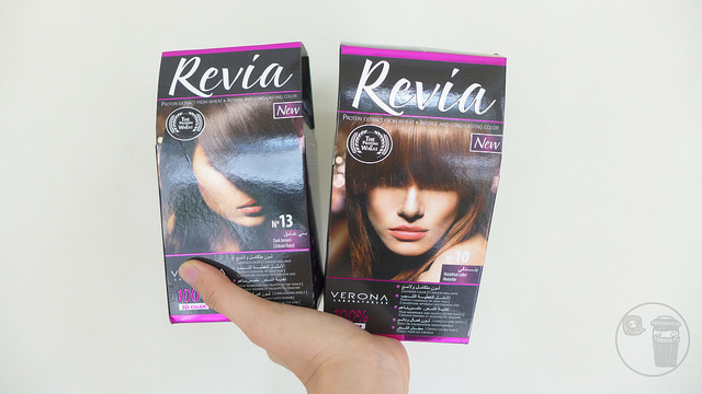 a review on revia hair color by verona