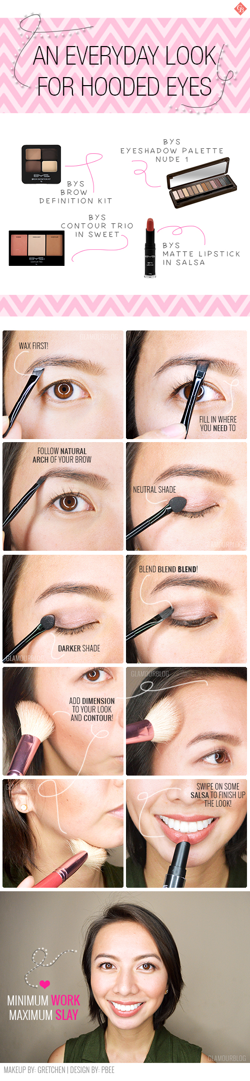 An Everyday Makeup Tutorial For Hooded Eyes