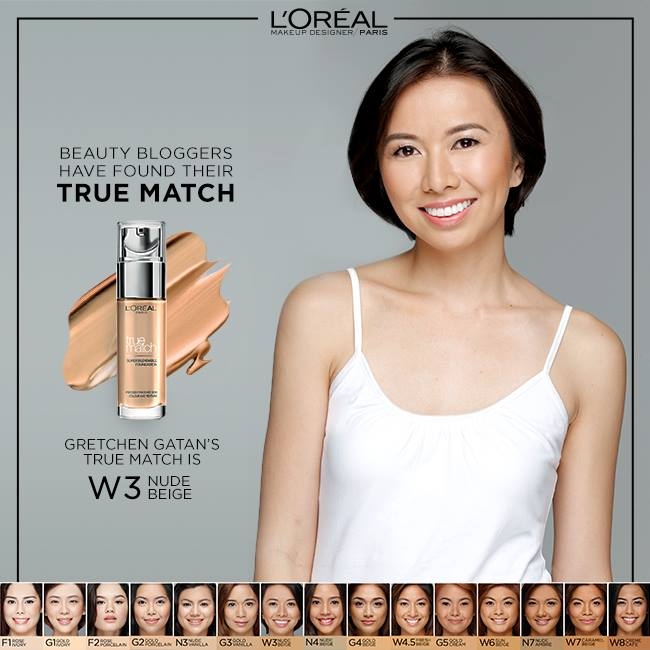 gretchen gatan loreal true match