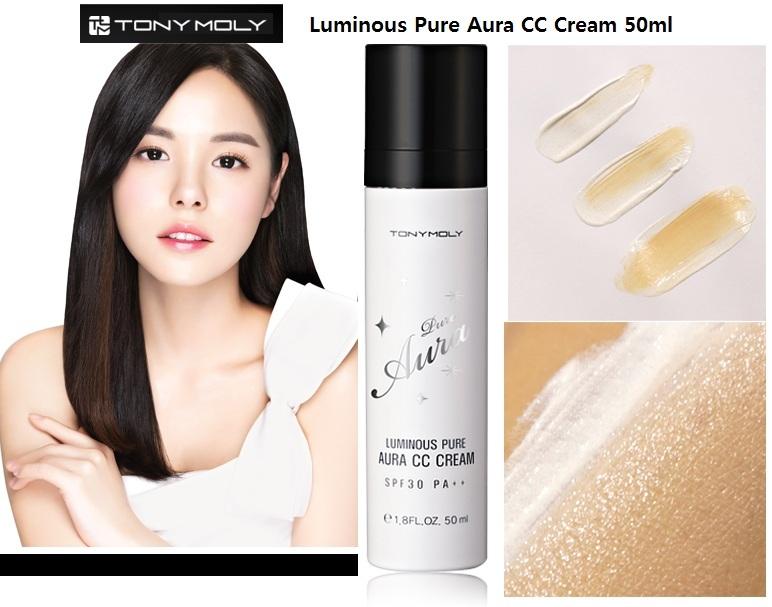 Tony Moly Luminous Pure Aura CC Cream 50ml