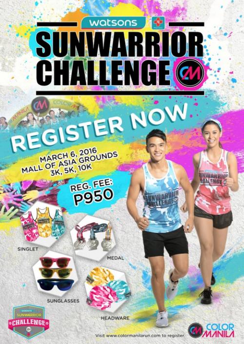 Color Manila Run x Sunwarrior Challenge