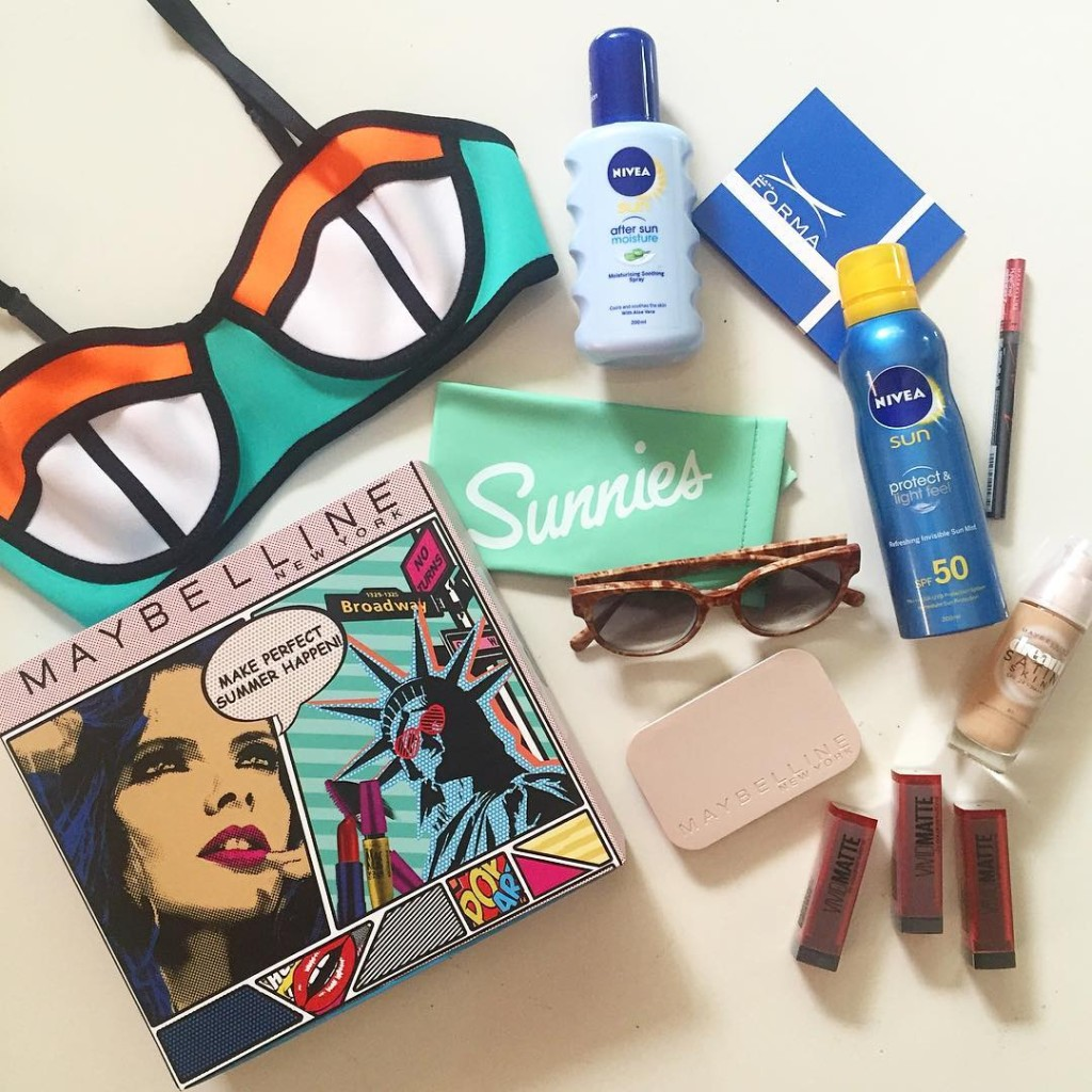 make perfect summer happen with maybelline