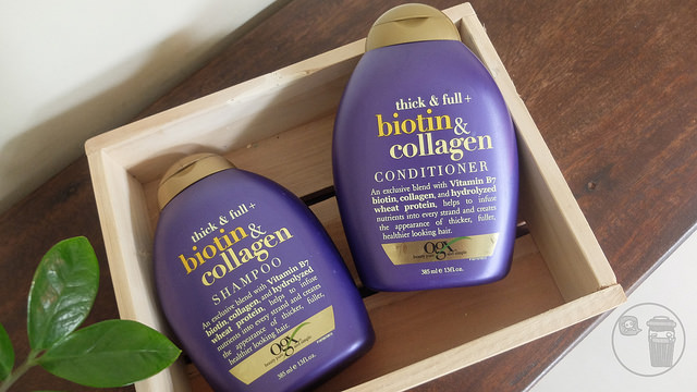 ogx beauty shampoo and conditioner for fine hair