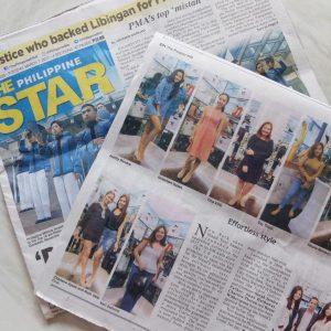 Philippine Star: Yosi Samra Feature (March 2017)