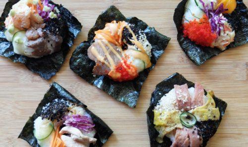 sushi donut in manila sushido