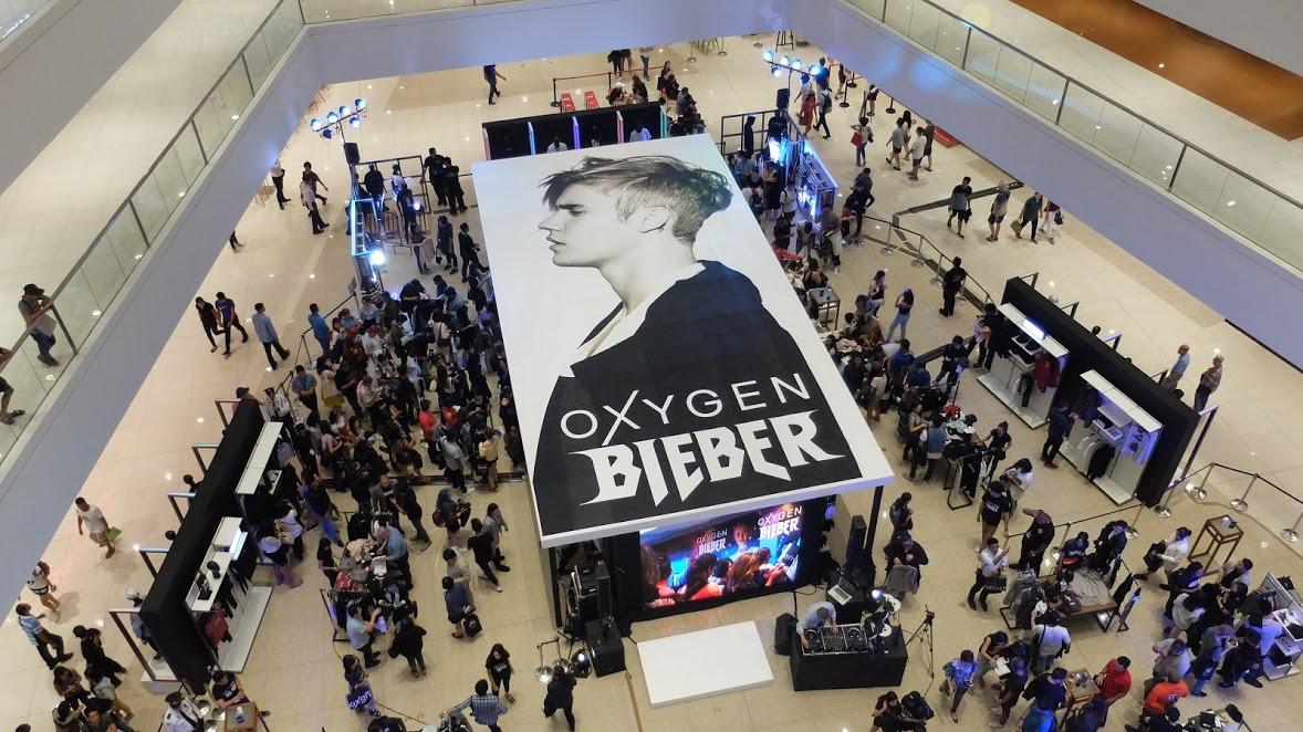 Oxygen clothing store