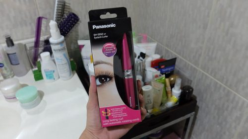 panasonic eyelash curler review