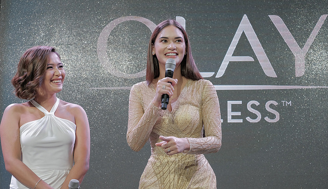 olay make your own luck event pia wurtzbach