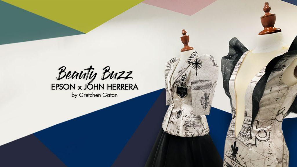 Beauty Buzz: EPSON x John Herrera