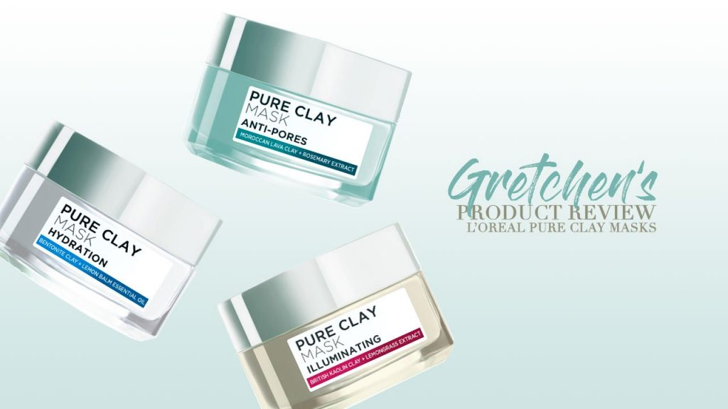 Product Review: L'Oreal Clay Masks