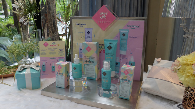 happy skin beauty launch