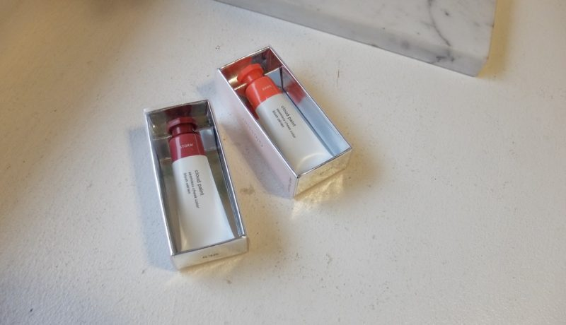 glossier cloud paint storm and dawn review and swatches (2)