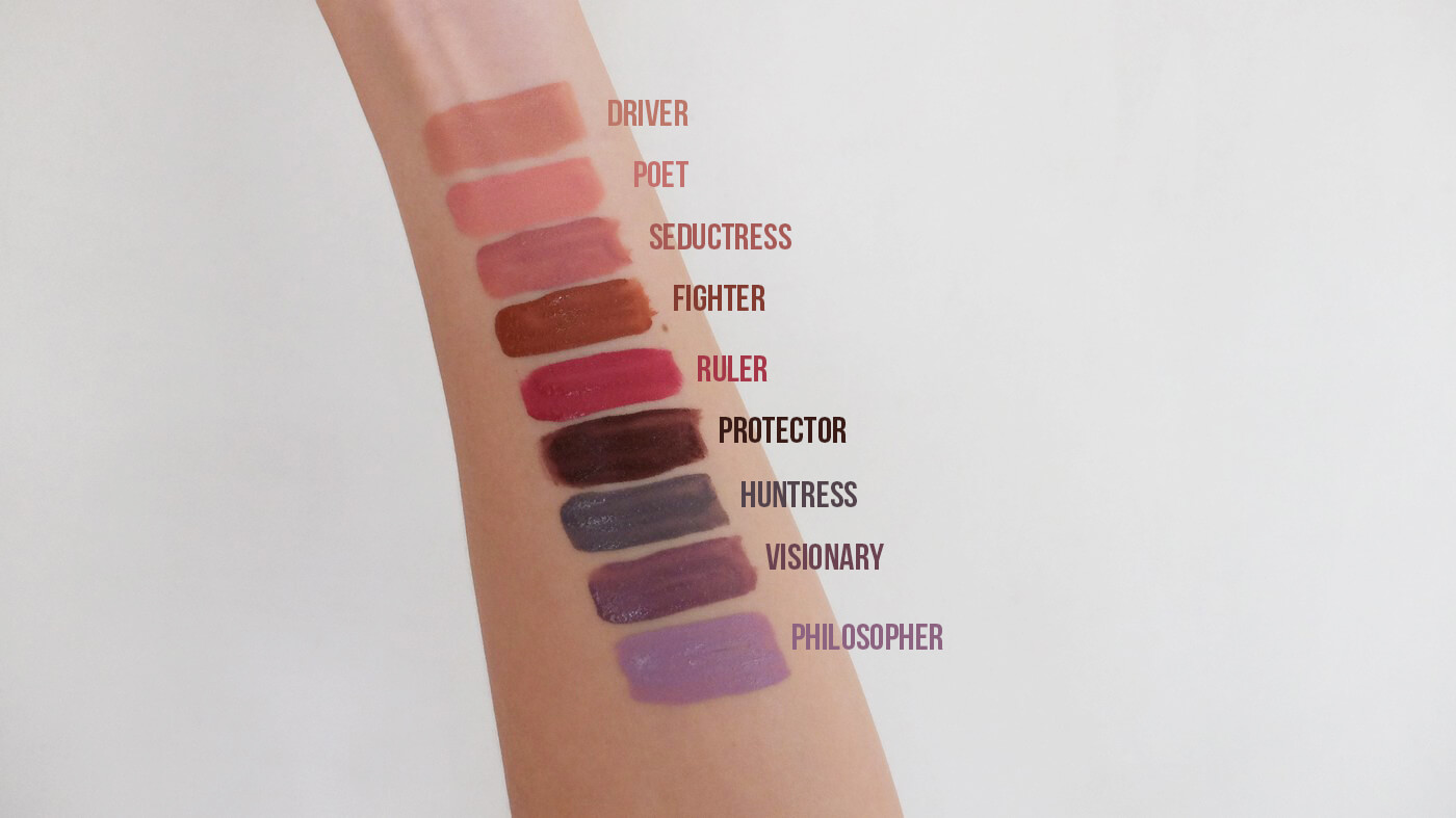 Maybelline Super Stay Matte Ink Unnude Swatches