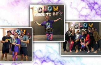 surprise bridal shower with philippine wrestling revolution