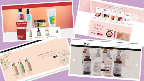 best onlinen makeup and skincare store