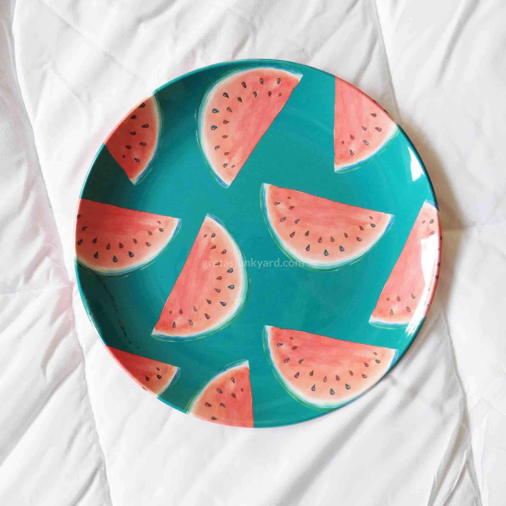 fruity melamine plates1