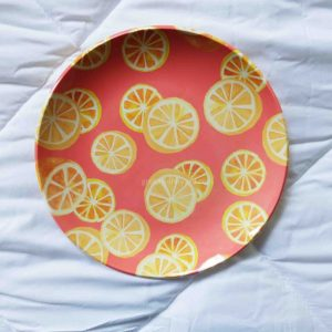 Fruity Melamine Plates