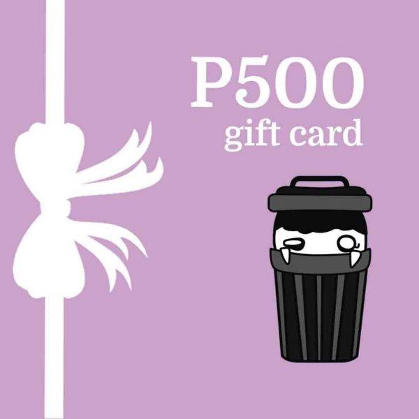 Greta's Junk Shop Gift Card - P500