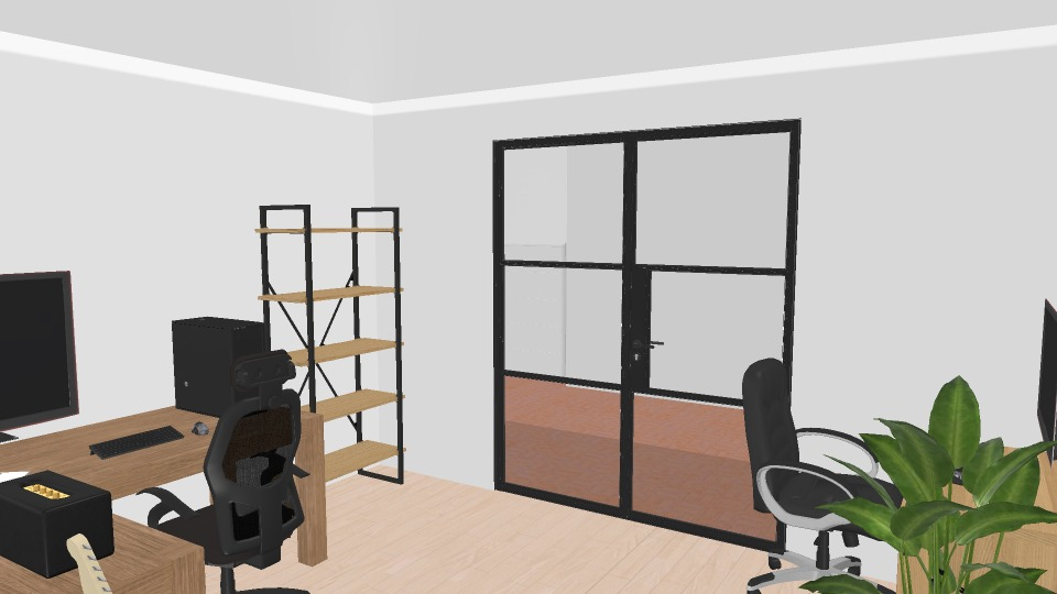 home office render