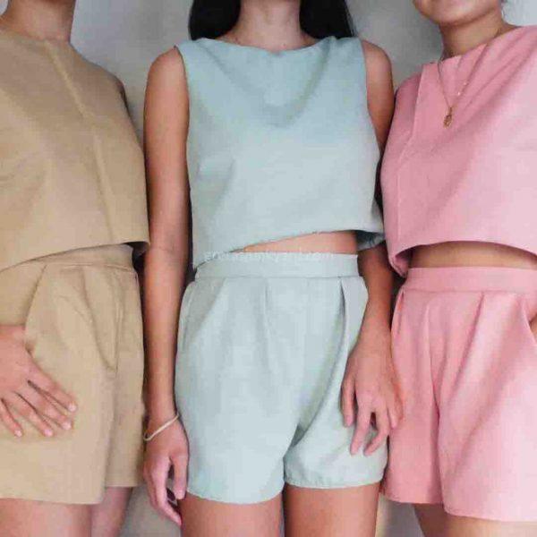 Puff Linen Set