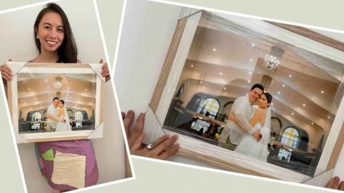 where to have wedding pictures framed