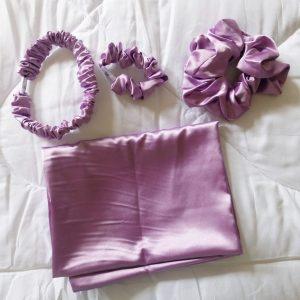 PoshFlip Silk Pillowcase Slumber Set