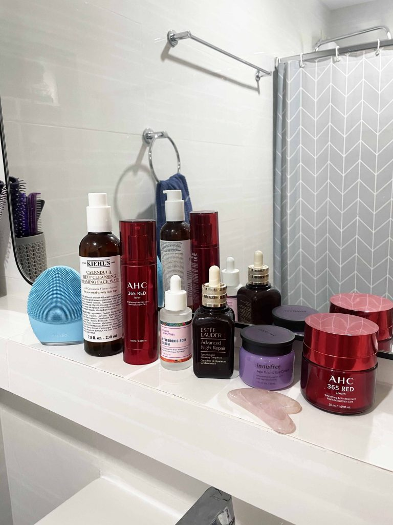 evening skincare routine for oily skin