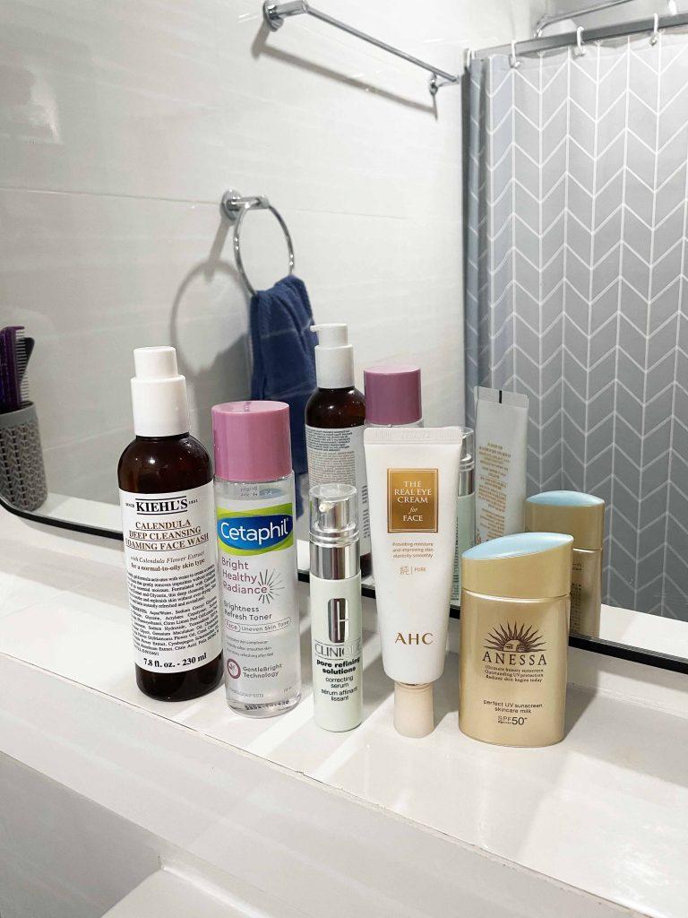daytime skincare routine for oily skin