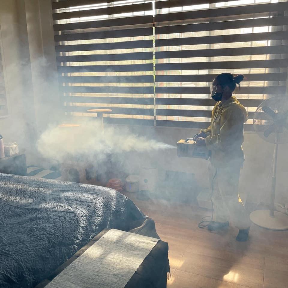 anti-bacterial mist