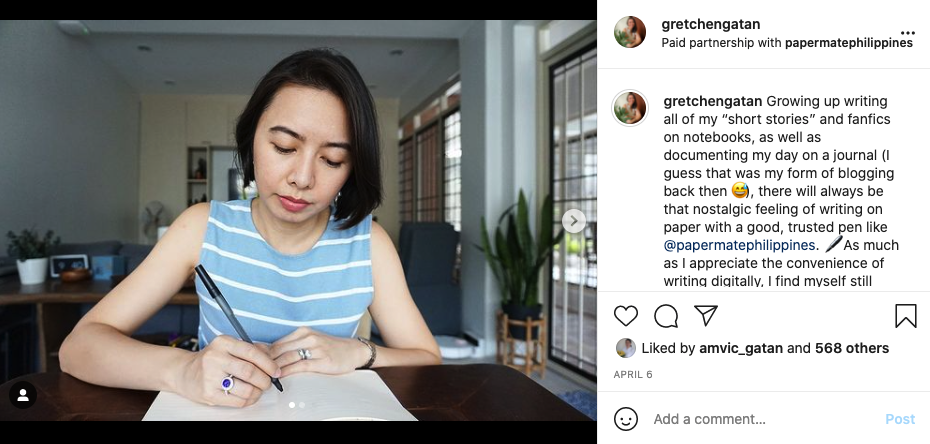 paid partnership on instagram