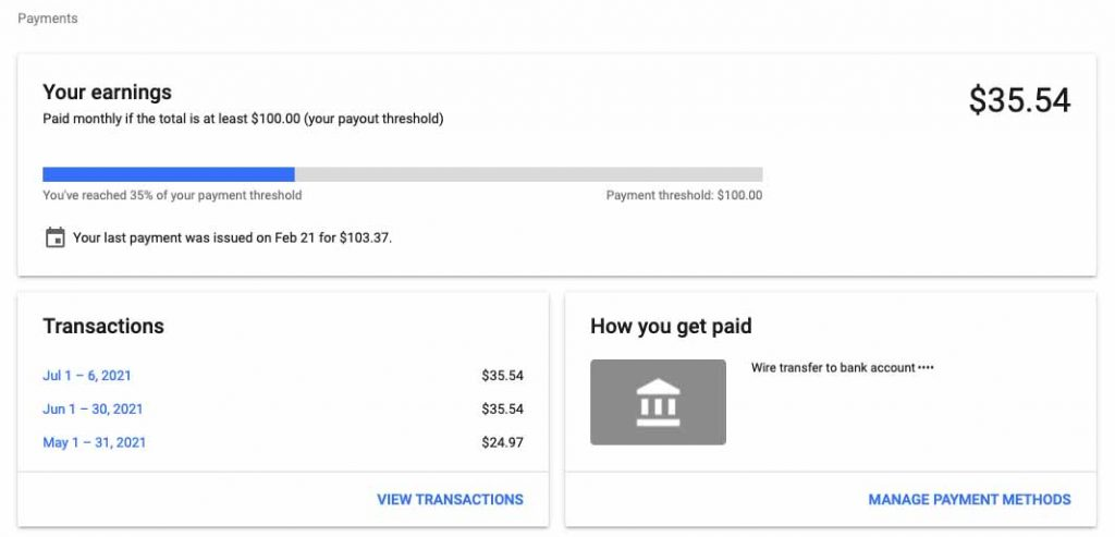how to earn money from blogging through google adsense