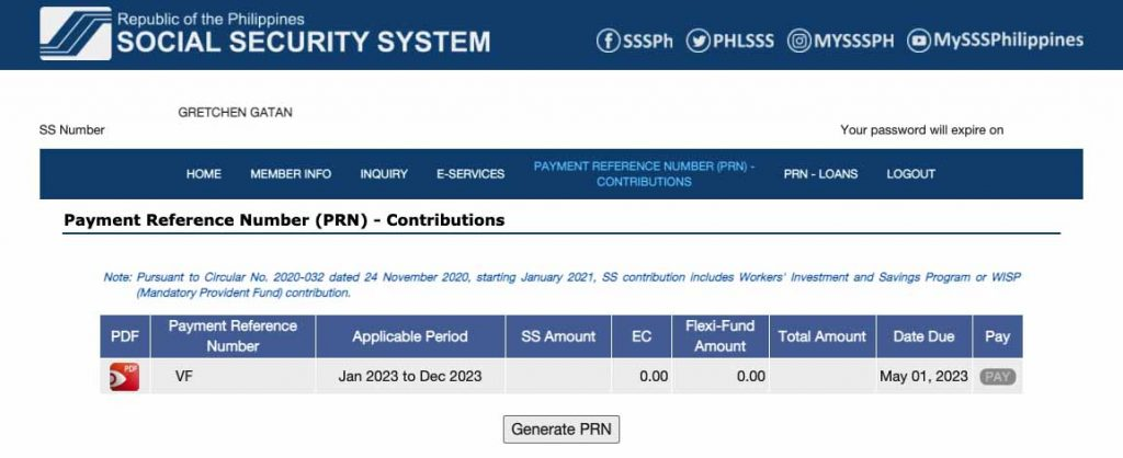 how to pay sss using gcash