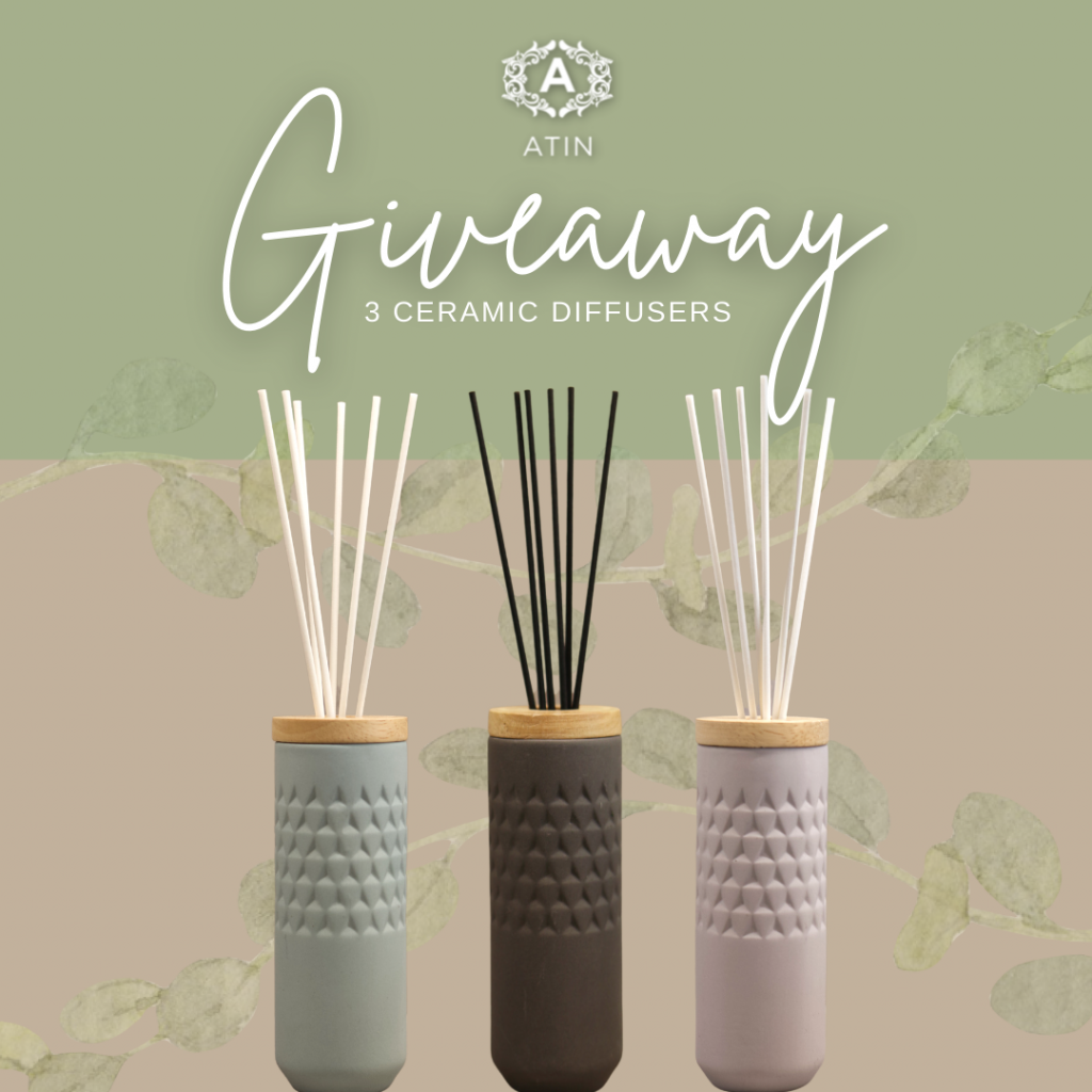 reed diffuser giveaway