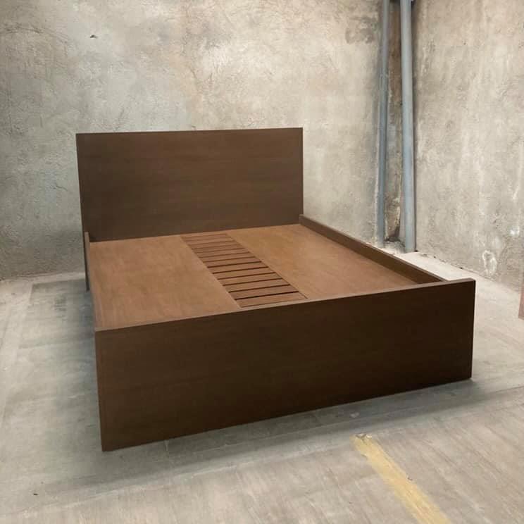 custom queen-sized bed