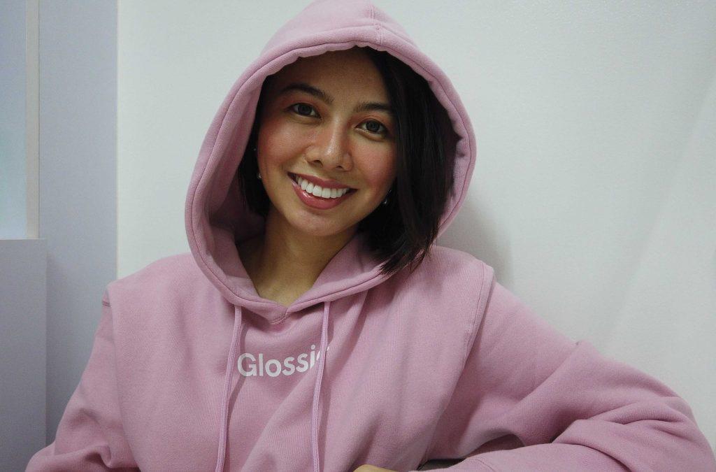 glossier philippines hoodie
