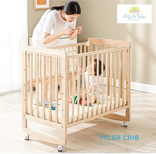 lily and tucker tyler crib