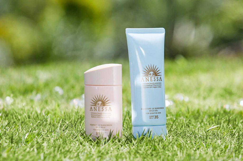 anessa mild series sunscreen