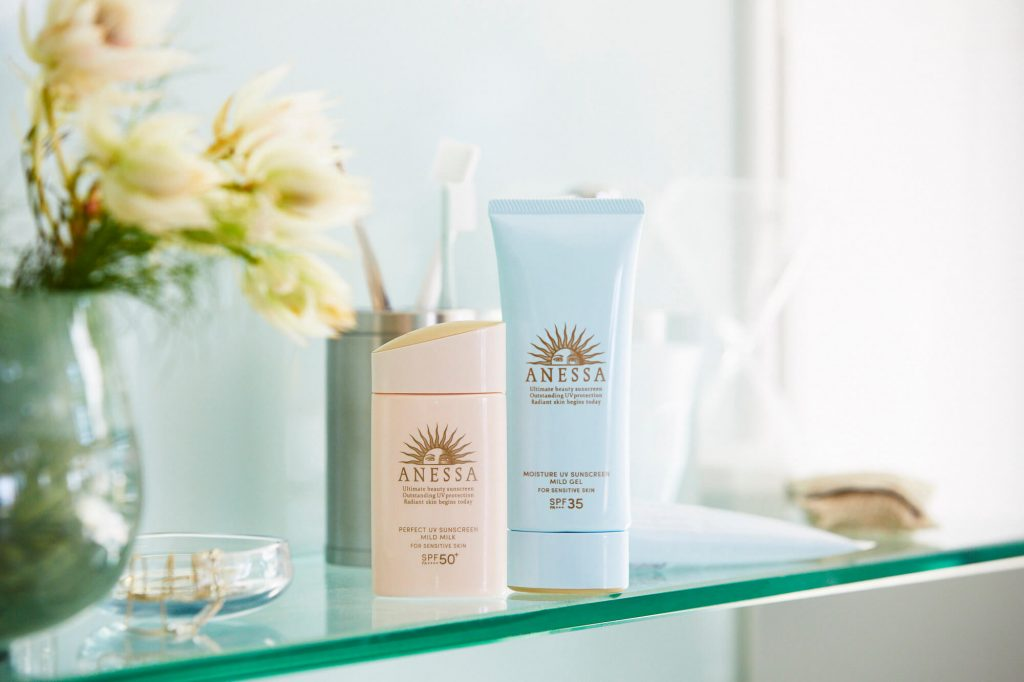 anessa sunscreen for sensitive skin