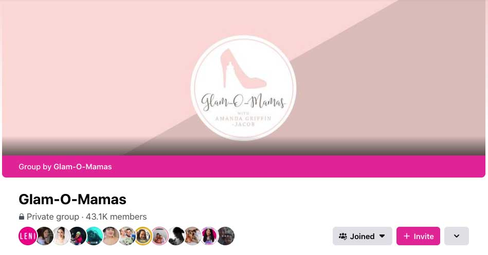 glam o mamas facebook group